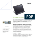 Factsheet SMART Podium DE