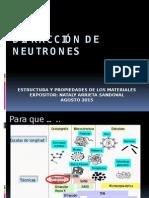 Difracción de Neutrones