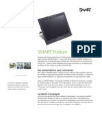 Factsheet SMART Podium FR