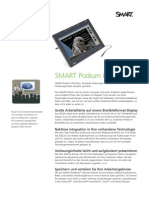 Factsheet SMART Podium Widescreen DE