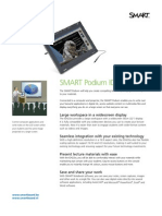 Factsheet SMART Podium Widescreen ENG