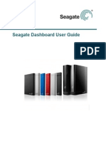 Seagate Dashboard User Guide Us