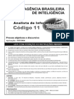 Analista Informatica ABin 2004