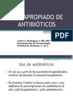 Uso Apropiado Antibiotico