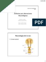 Clase Paralisis y Espasmodica