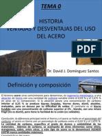 Tema 0; Historia y Ventajas Acero