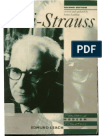 (Fontana Modern Masters) Edmund Leach-Levi-Strauss (2nd Ed)-Fontana Press (1996)