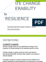 Climate Change Vulnerability & Resilience