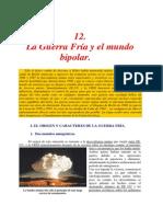 Guerra Fría y el mundo bipolar