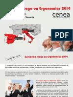 European Stage on Ergonomics 2014