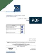 Evaluacion Legislacion Mercantil y Societaria