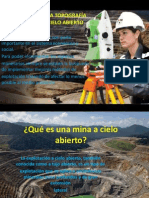 Aplicación de La Topografía en Minería a Cielo