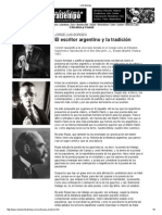 Borges, El Escritor Argentino y La Tradición