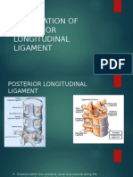 Ossification of Posterior Longitudinal Ligament