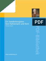 Ein Swedenborgianer liest Hahnemann und Kent