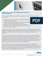 Desktop Replacement Productivity Impact Study Dell