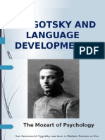 Vygotsky and language development