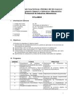 Syllabus Tecn Alim II 2012 I