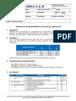 RFE-OM-MT-TIN-0003-Rev_A- Instructivo de Mantto. de Aceite de Lubricacion