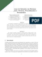Análise Forense de Intrusões Em Sistemas Computacionais Técnicas