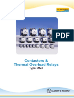 Three Pole Contactors MNX