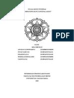 Audit Internal Chapter 3 & 5