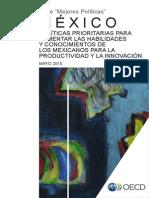 2015 OCDE Documento Completo Politicas Fomentar Habilidades Conocimientos -Productividad Innovacion1