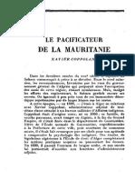 Randau_le Pacificateur de La Mauritanie