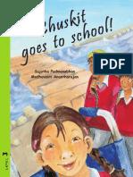 Chuskit Goes to School - English