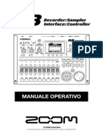 Zoom R8 Manuale Operativo (Italian)