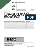 Dvd Pioneer Dv600av
