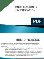 Op. Humidificacion de Deshumidificacion