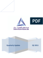 Oman Electricity Quarterly update