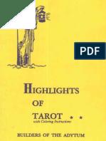 Case Paul Foster - Highlights of Tarot