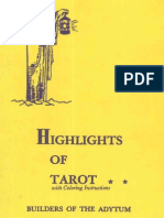 Case Paul Foster - Highlights of Tarot
