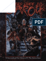 Werewolf the Apocalypse Revised - Players Guide to Garou