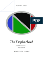 The Templist Scroll by :Dr. Lawiy-Zodok(C)(R)TM
