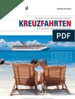 Kreuzfahrten von Carnival Cruise Lines - Deutschland - auf einen Blick - SAISON 2010/2011