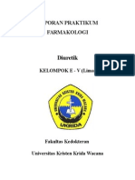 Laporan Praktikum Farmakologi - E5 - Diuretik.docx