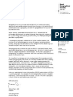 Michael Palin Letter