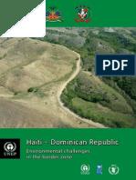 UNEP Haiti-DomRep Border Zone En