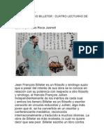 Cuatro Lecturas de Zhuangzi