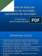 Elemente de Baza Ale Sistemului de Securitate
