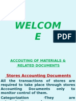 Material Accounting & Related Documents