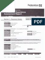 assessment report - 3rd year myrniong