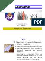 Chapter 1- Leadership