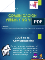 Comunica c i on No Verbal y Verbal