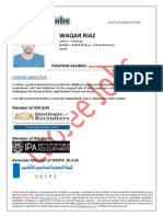 Waqar Riaz - Hr-Admin Manager