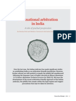International Arbitration in India PDF 163kb 109086