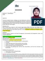 Ms. Sharief Maharan - Civil Architect, Site Supervisor, Autocad Operator, Estimator Philipino